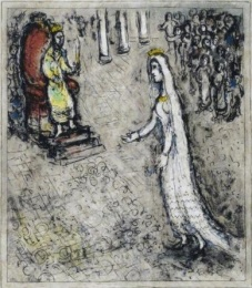 Mark Chagall's Esther